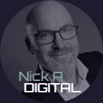 Nick A Digital Logo